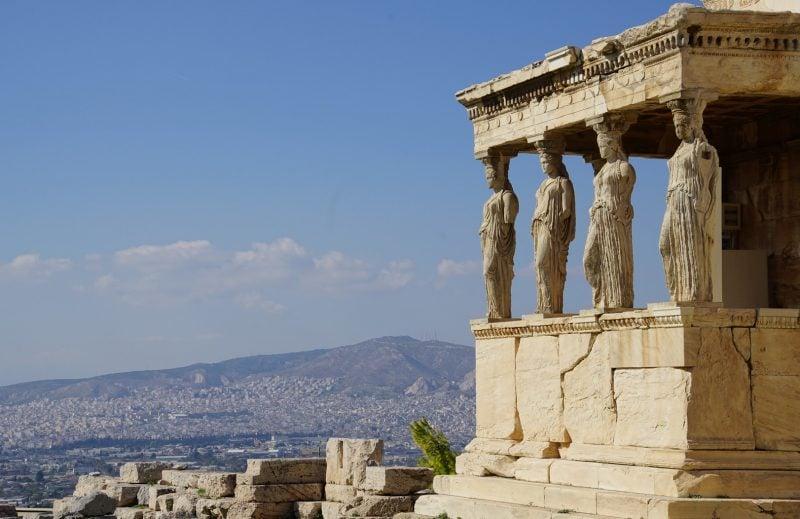 die schönsten Orte der Welt Athens Griechenland Parthenon