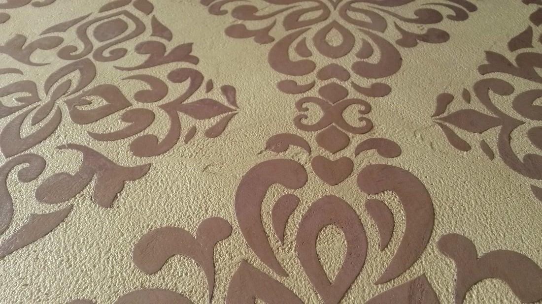 Barrockes Muster und edle Texturen