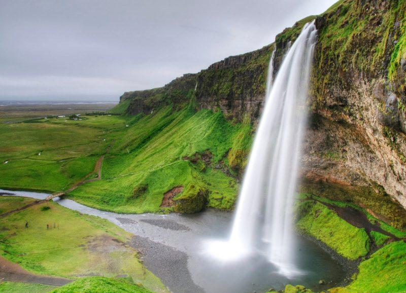 die schönsten Orte der Welt mit atemberaubender natur Seljalandfoss Wasserfall