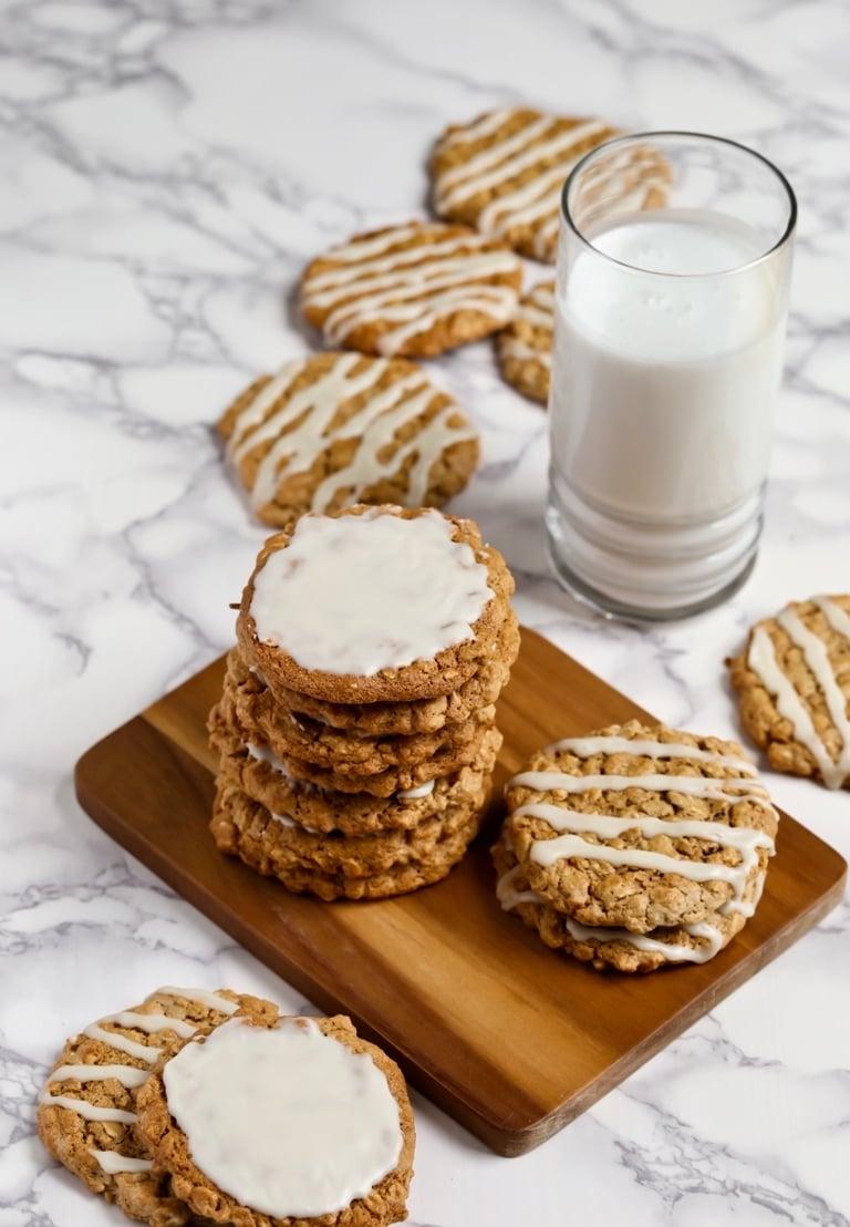 Vegan Kekse zum Morgenkaffee