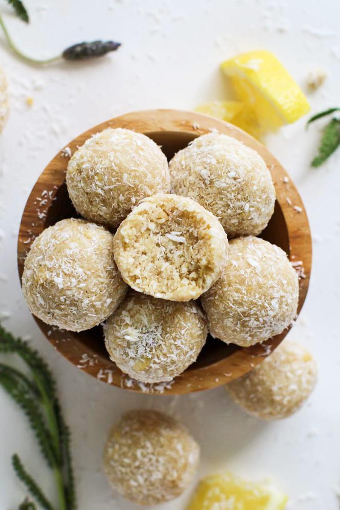 Kokosbällchen - einfacher Plätzchenteig ohne Backen