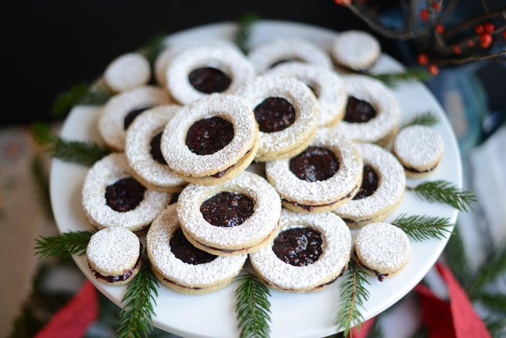 Nuss-Nugat Taler - Weihnachtsplätzchen zum ausstechen