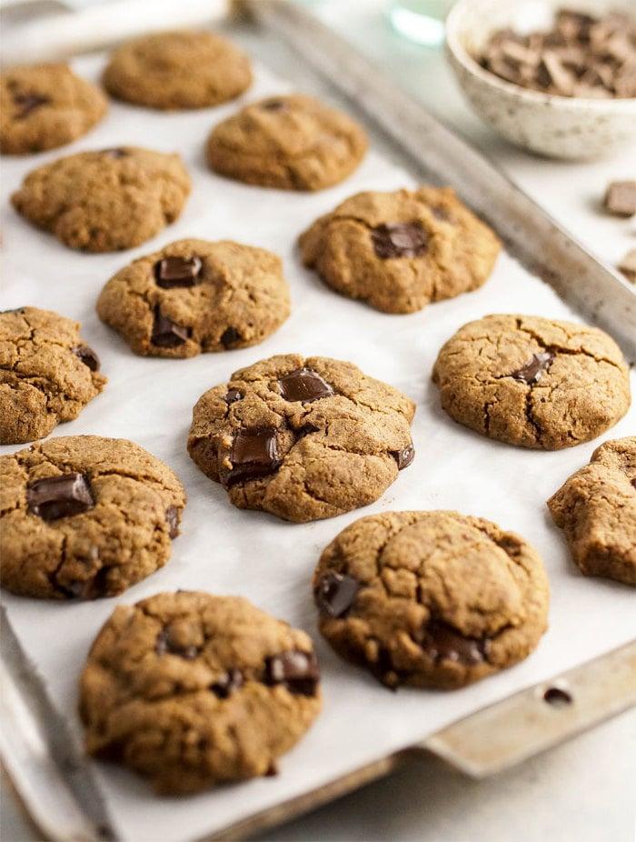 Plätzchenteig Rezept - Kekse mit Erdnussbutter