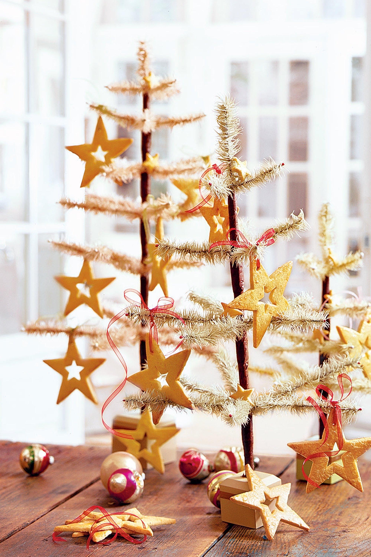 Weihnachtskekse für den weihnachtsbaum