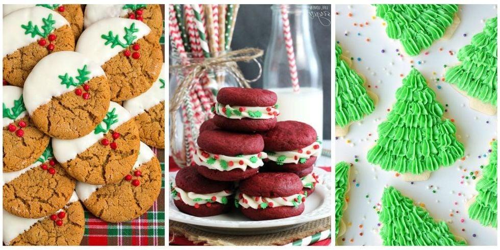 Weihnachtlicher Kekseauswahl
