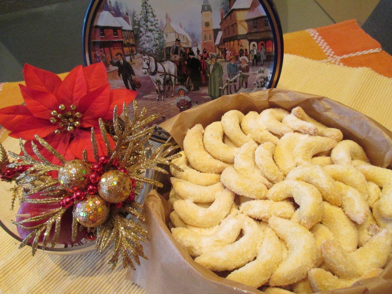 Weihnachtskekse Rezept - Vanillekipferl