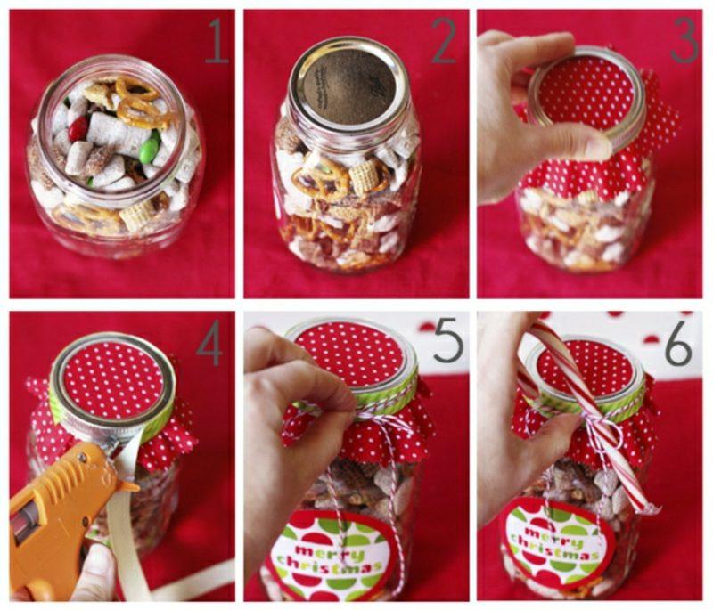 selbstgemachte Geschenke Weihnachten Kinder DIY Ideen