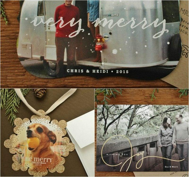Weihnachtsgrüβe Karten ganz individuell gestalten