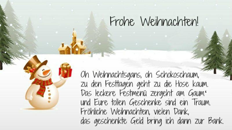 Weihnachtsgrüβe lustig Freunde Familie Lieblingsmanschen