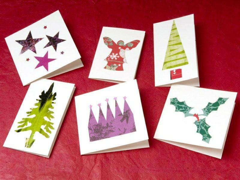 Weihnachtsgrüβe und Karten origineller Look