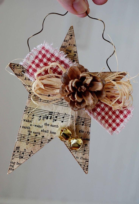 Weihnachtssterne basteln-für ein schönes Fest