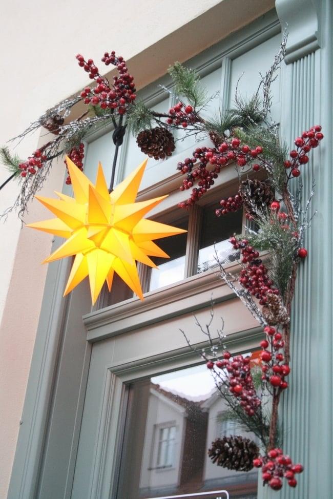Weihnachtssterne machen Weihnachten schöner