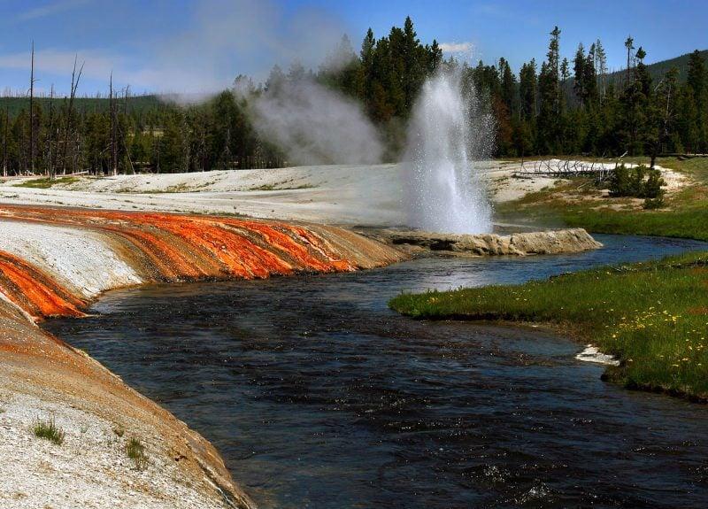 die schönsten Orte der Welt Yellowstone Nationalpark USA