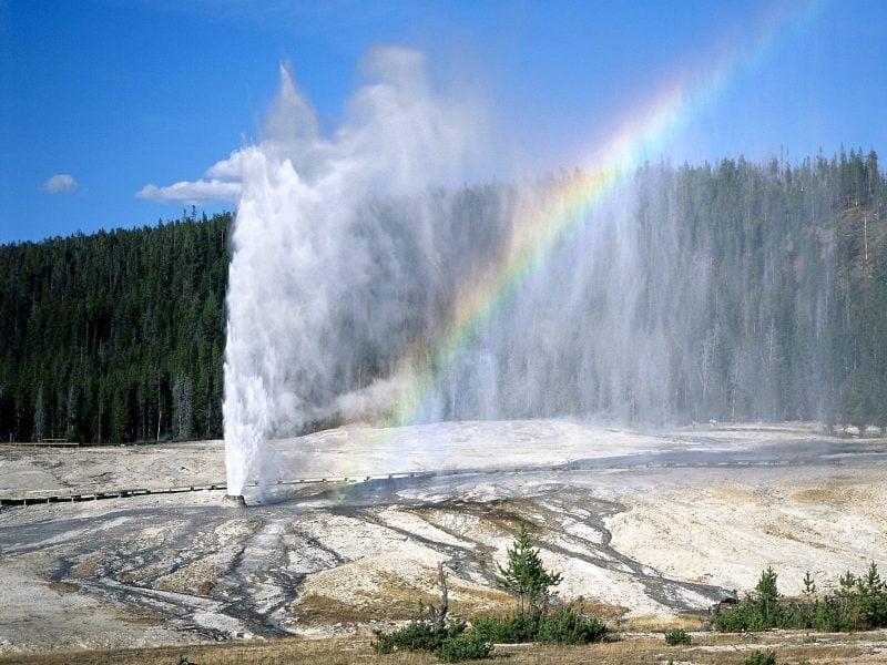 die schönsten Orte der Welt Yellowstone Nationalpark USA Geysir