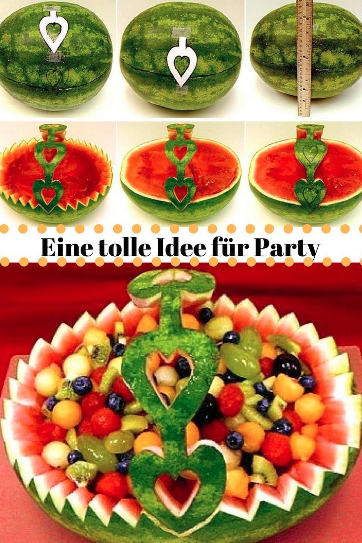 Bereiten Sie einen genialen Obstsalat für Ihre Gäste