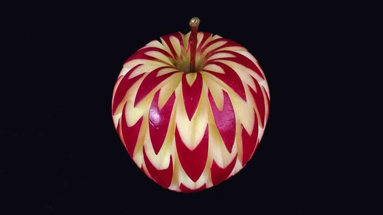 Obst und gemüse schnitzen kreative ideen anleitungen