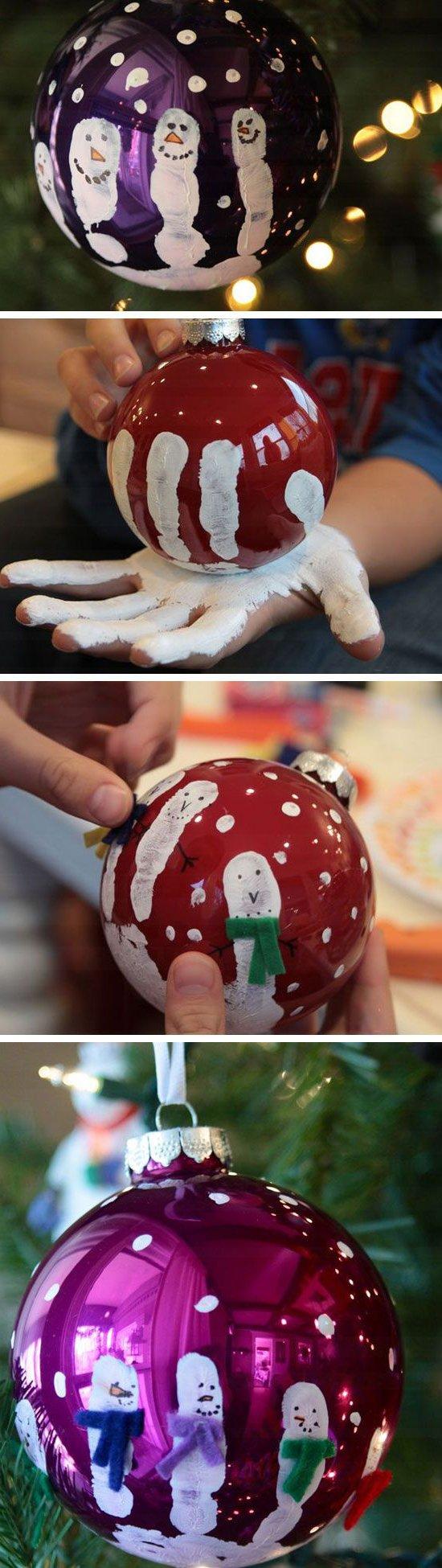 Weihnachtsbasteln mit Kindern