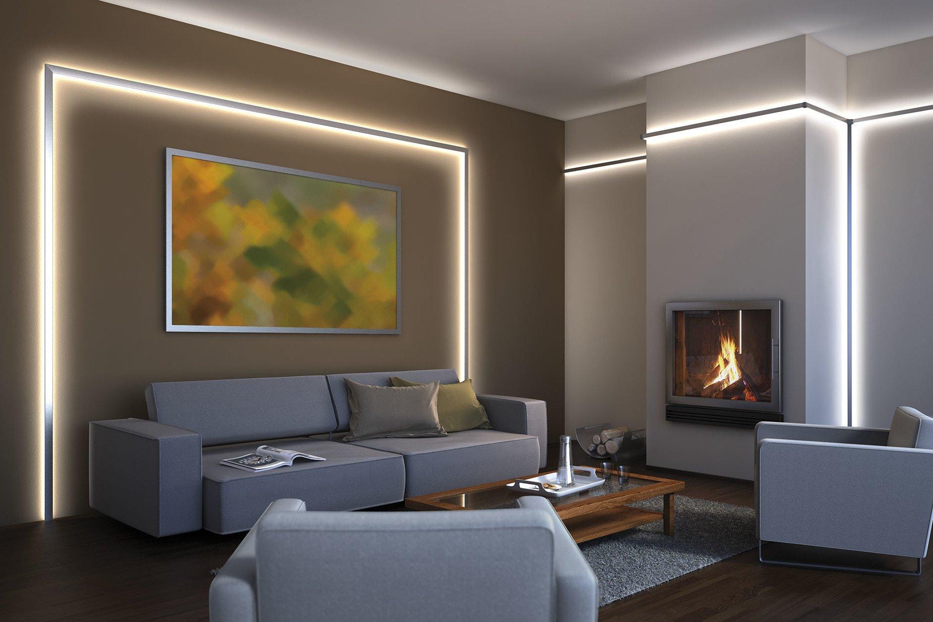 Machen Sie sich das Zuhause nett mit ein wenig LED