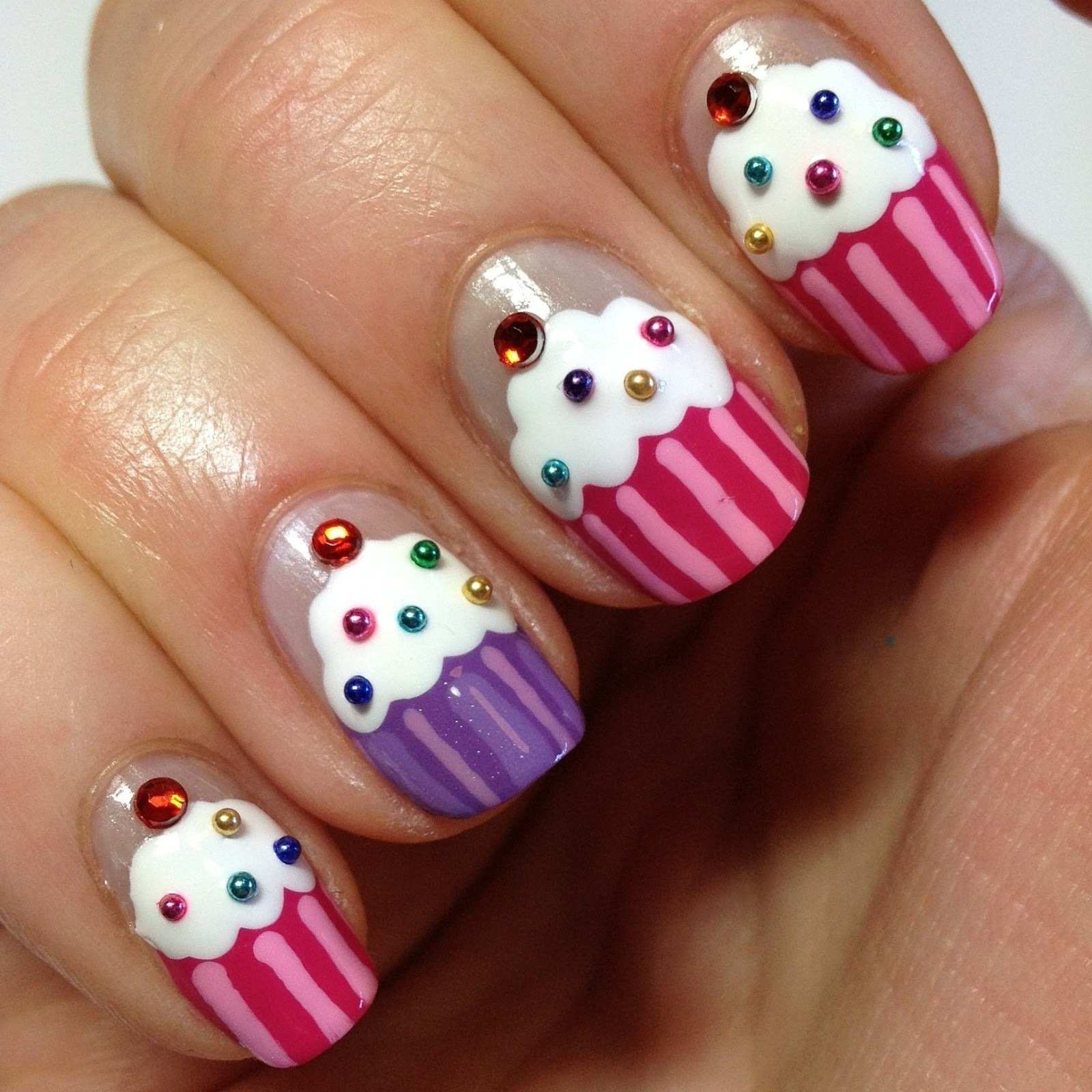 Muffin-Nageldesign