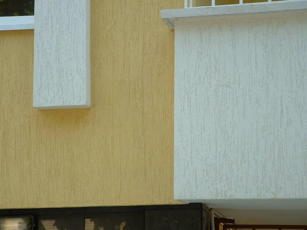 Strukturputz für Außenfassade