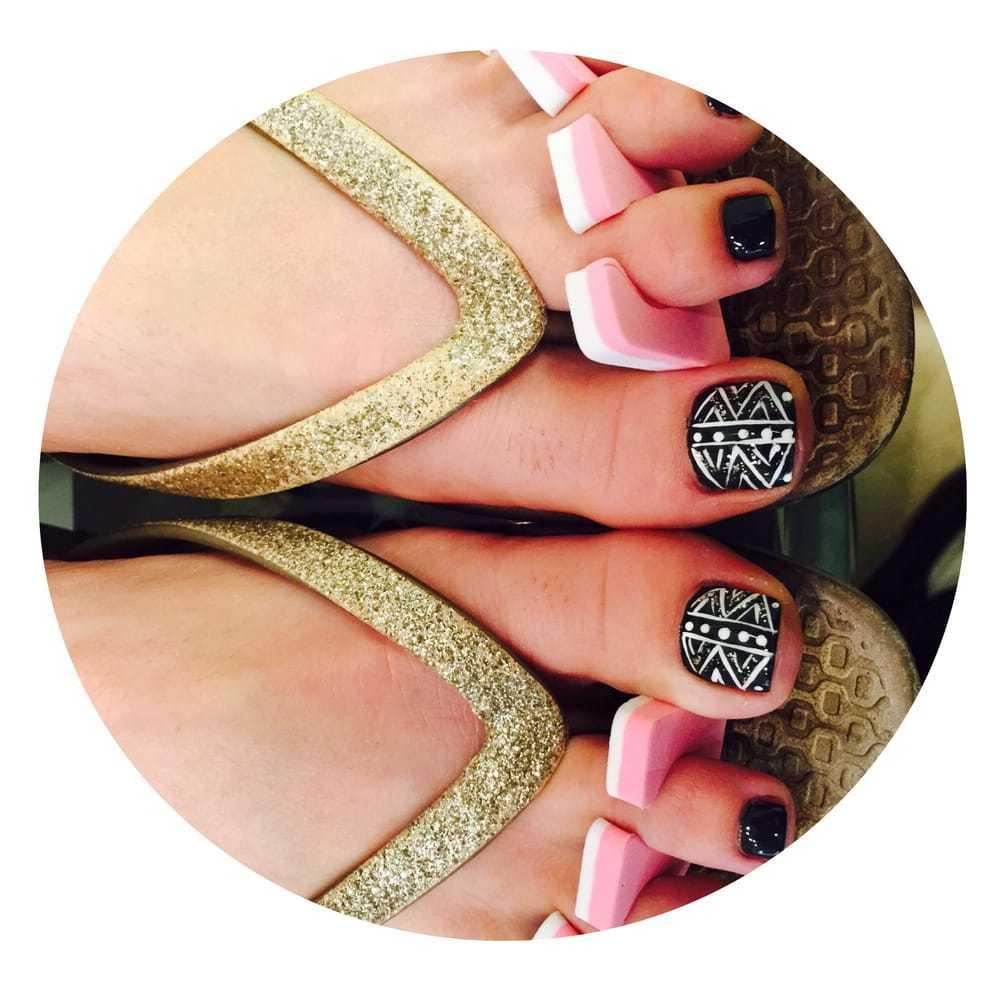 Fußnägel - Ideen für Nagellack