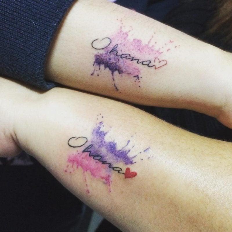 Geschwister Tattoo Namen