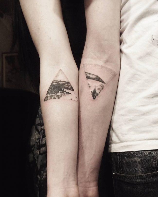 Geschwister Tattoo von der Lieblingsplätze