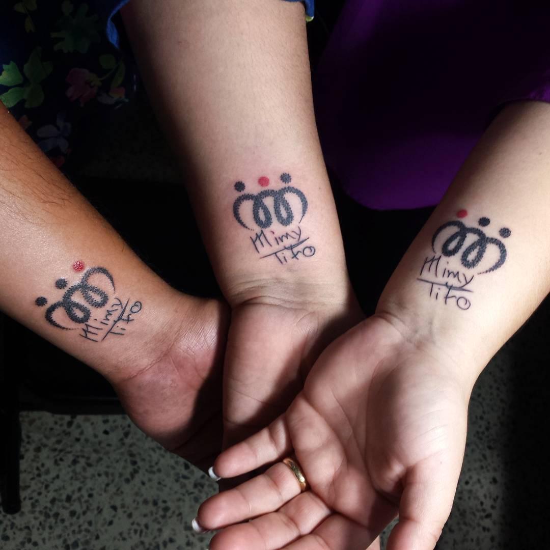 Geschwister Tattoo Sternzeichen