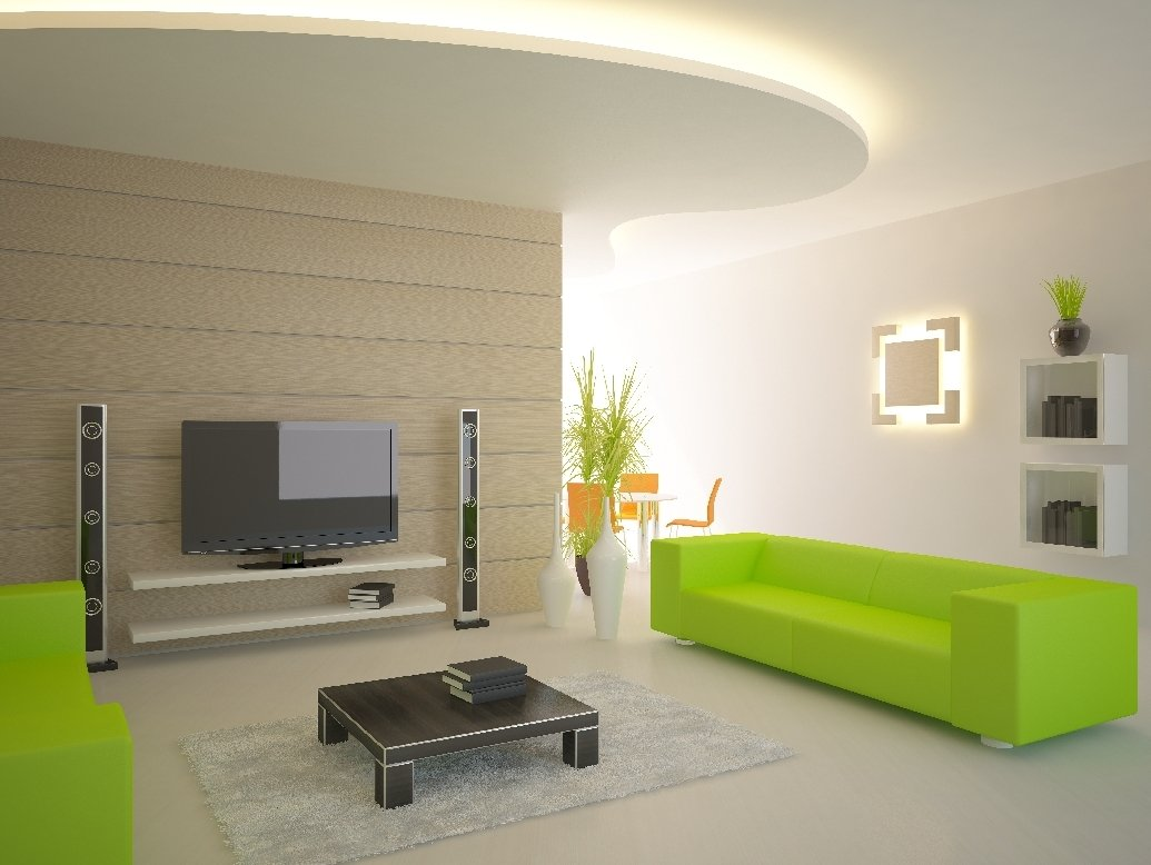 Frische Farben und indirekte Beleuchtung-die perfekte Kombination