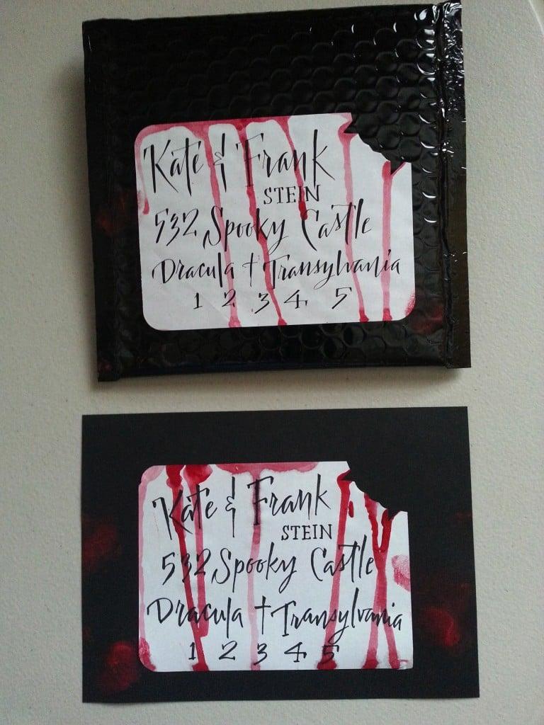 Halloween Einladung Horror Ideen