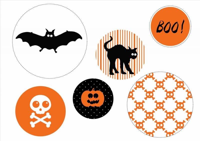 Halloween Einladungskarten kostenlos zum ausdrucken