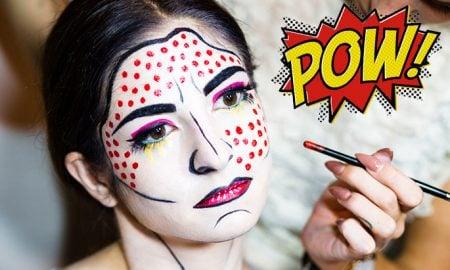 Halloween Make Up Pop Art Makeup