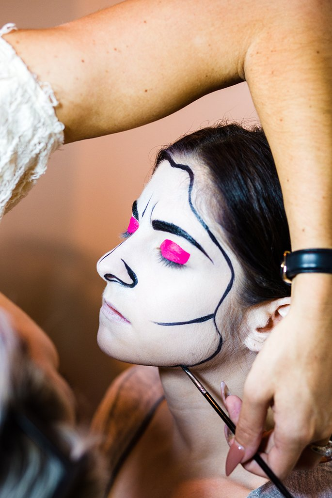 Halloween Make up Anleitung