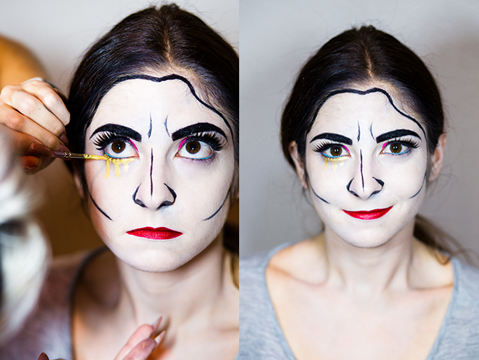 Halloween Make up Anleitung