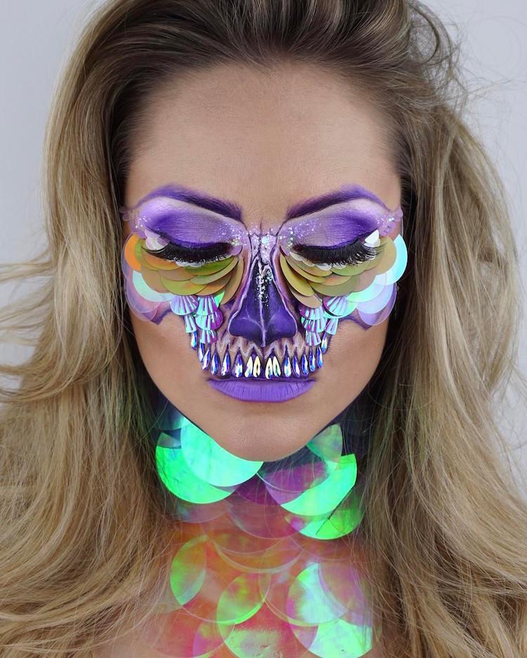 Halloween Schminken Acrylic Farben