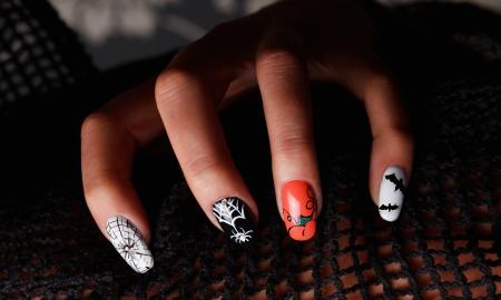 Halloween Nägel DIY Ideen