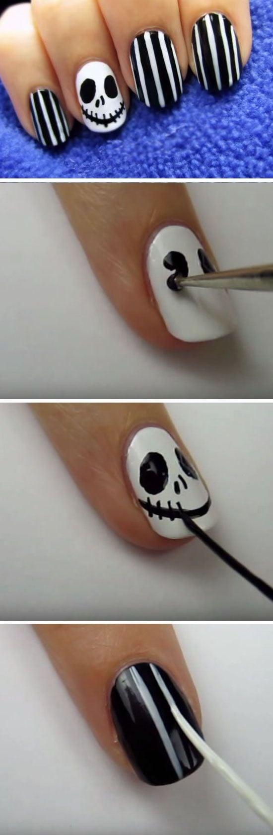 Halloween Nägel selber machen - 31 Anleitungen zum Selbermachen ...