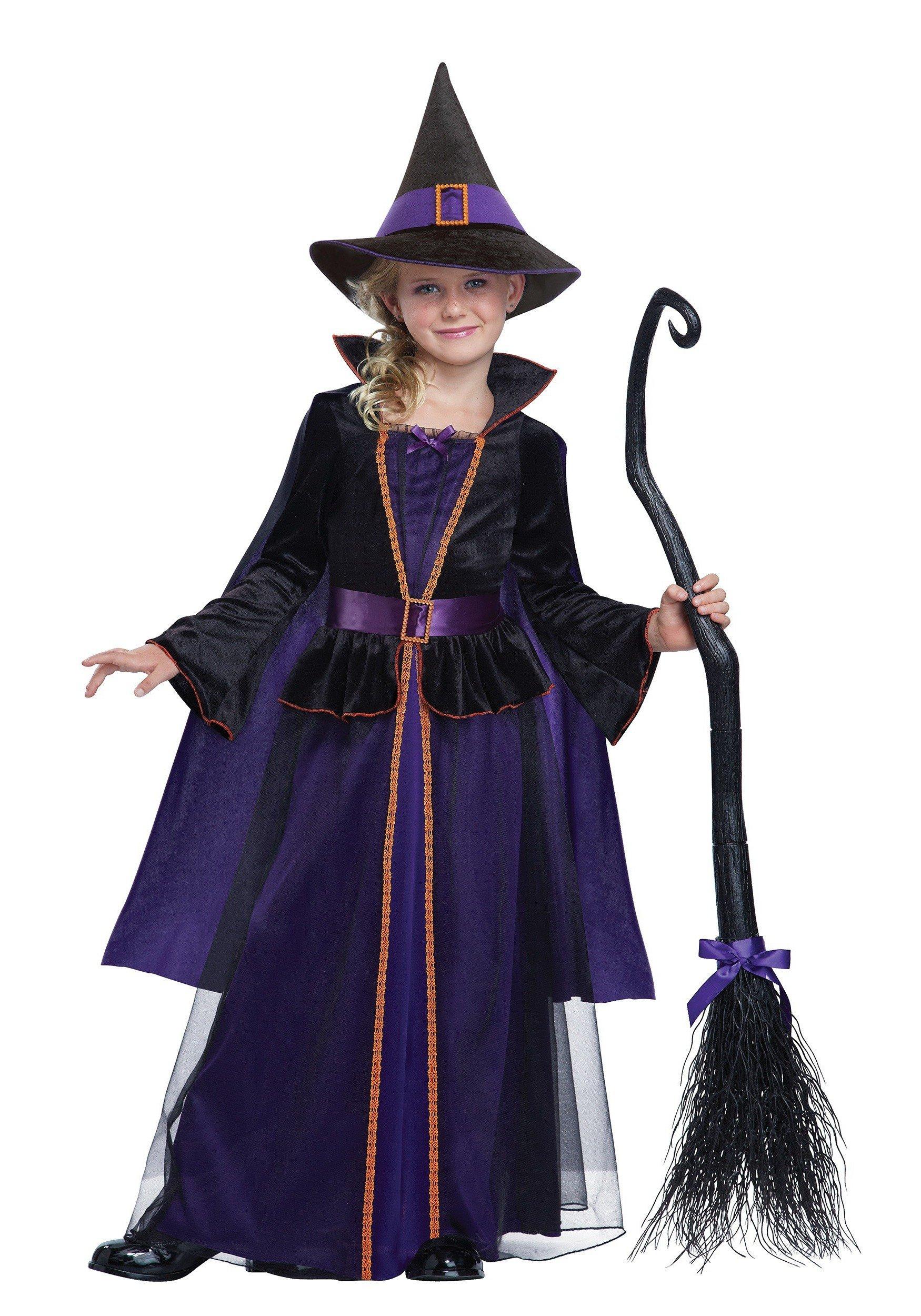 Hexenkostüm für Kinder - ein echter Klassiker