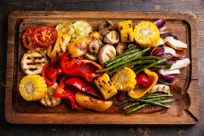 Gegrilltes Gemüse, leckeres und gesundes Grillgut für jeden Geschmack