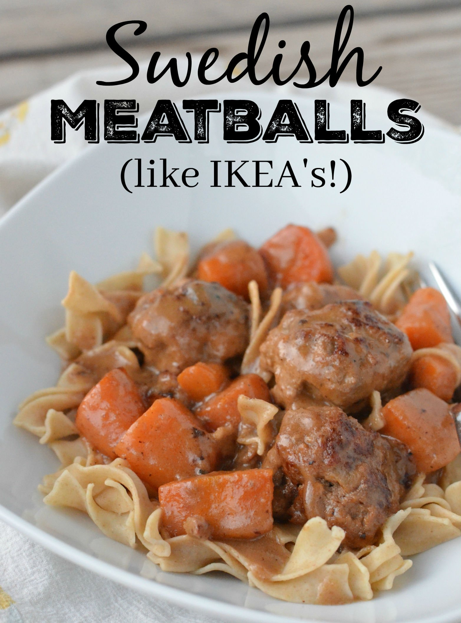 Köttbullar in der IKEA Restaurant Spreisekarte