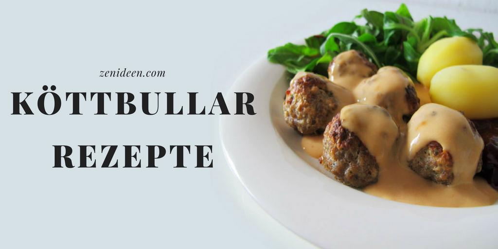 Viele Rezepte für perfekte Köttbullar