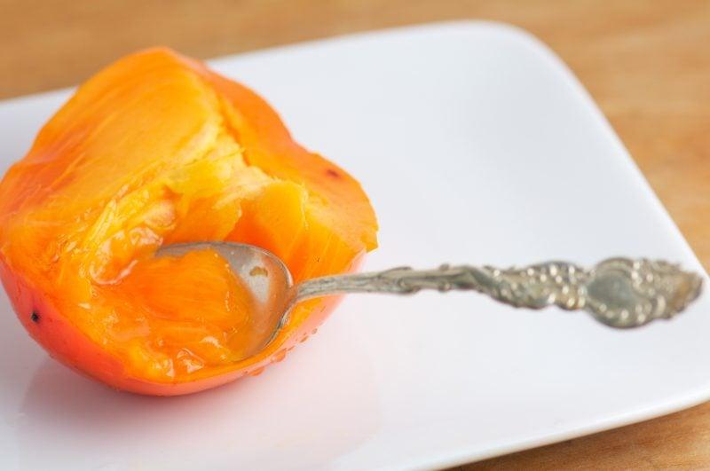 Kaki Frucht gesund