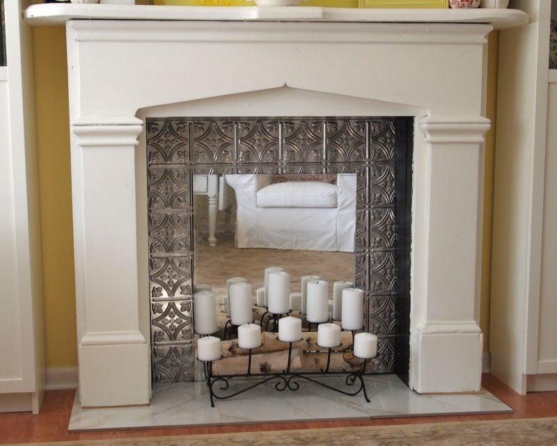 kaminkonsole f r weihnachten selber bauen deko feiern. Black Bedroom Furniture Sets. Home Design Ideas