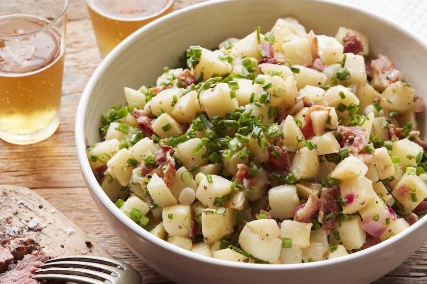 Wie kocht man Kartoffeln in Deutschland?