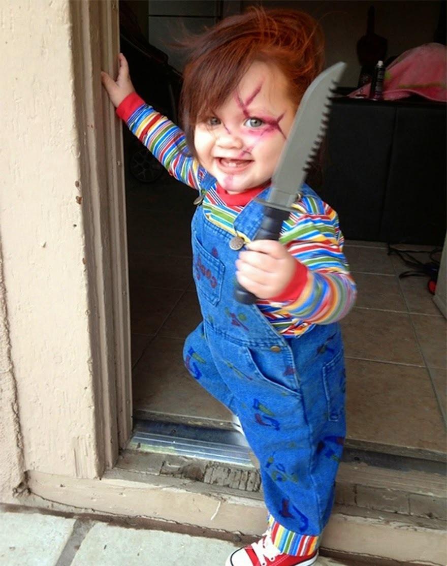 ein süßer Räuber - Halloween Kostüm Kinder zum selber machen