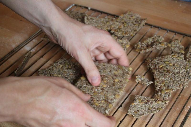 Knäckebrot gesund - Rezept
