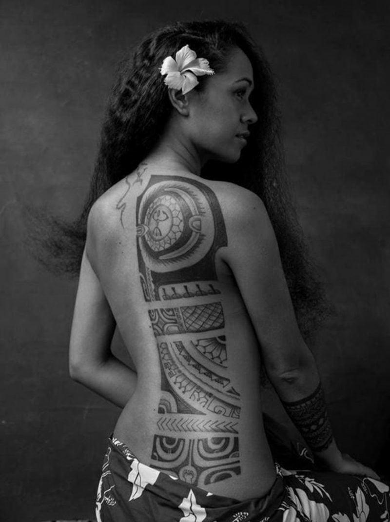 Indianische Tattoo-Motive