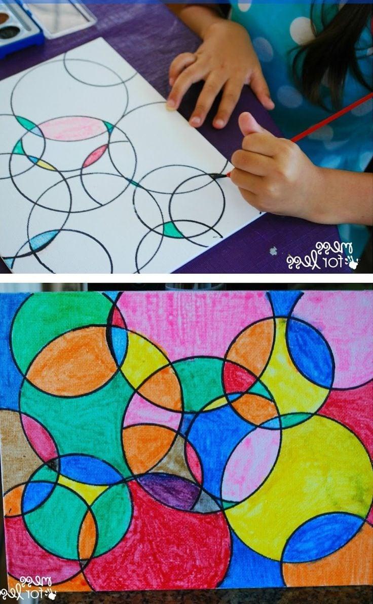 Das Malen hilf die Entwicklung der Kindern