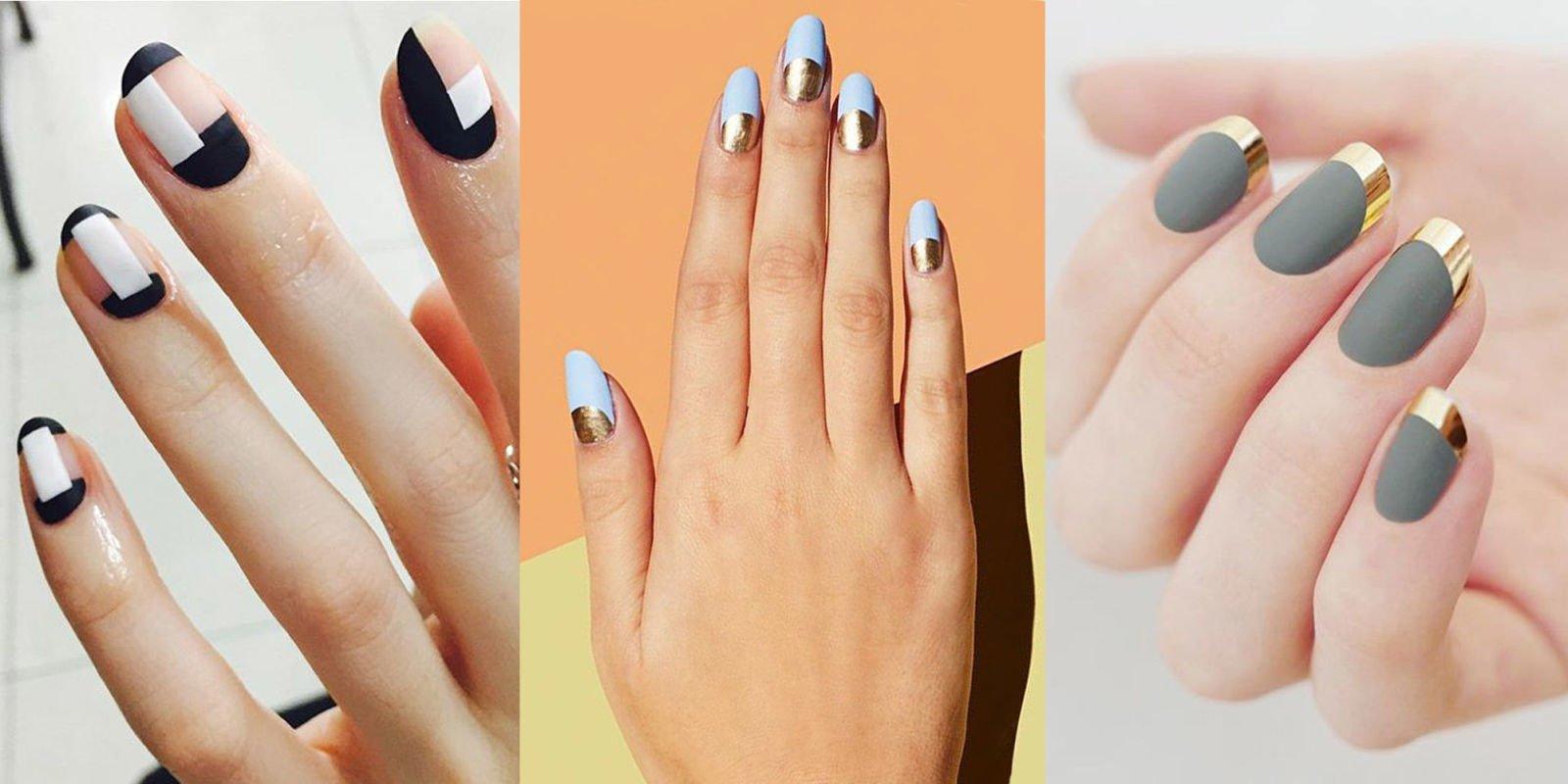 French Manicure für Liebhaber