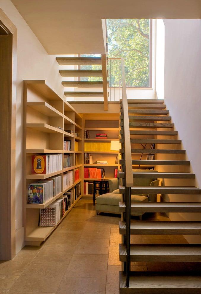 Moderne Treppen - Noch ein Raum unter der Treppe!